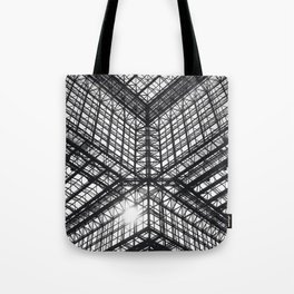 Metal and Glass Tote Bag