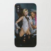 miley cyrus iPhone & iPod Cases featuring Miley Cyrus by Fabricio Obljubek