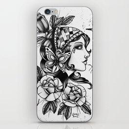 Gipsy Girl - TATTOO iPhone Skin