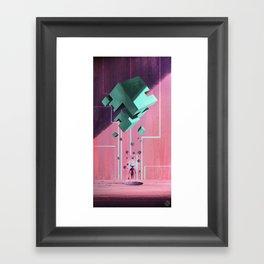 Cube. Framed Art Print