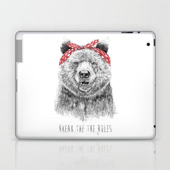 Break the rules Laptop & iPad Skin