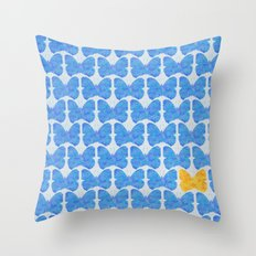 One of a kind (blue) Throw Pillow