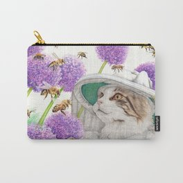 Bee Cat Carry-All Pouch