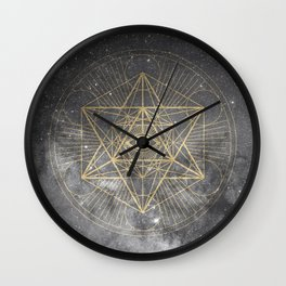 cosmic consciousness Wall Clock