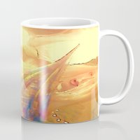 boobs Mugs featuring NUDE BLOND BIG BOOBS LADYKASHMIR HAPPY VALENTINES DAY by ladykashmir goddess