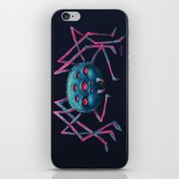 spider iPhone & iPod Skins featuring Spider by AlexTroi