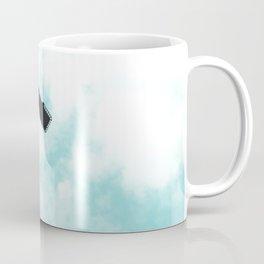 Turquoise Sky Clouds Coffee Mug