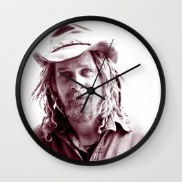 Tranny Danny - The Homeless Derelict Vagabond Wall Clock