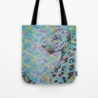 camo Tote Bags featuring Camo by Caballos of Colour