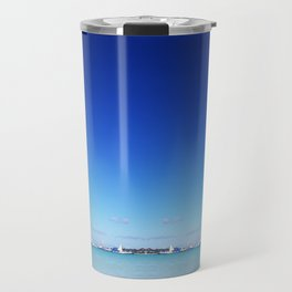 Beach and Sky Travel Mug