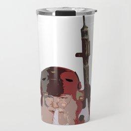 Tactical Santa Travel Mug