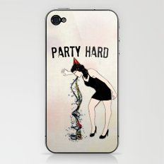 Party Hard - New Years Edition iPhone & iPod Skin