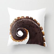 ocean treasures No.2  Octopus Tentacle  Throw Pillow