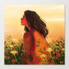 Lorde Sunset Canvas Print