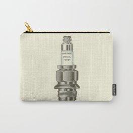Spark plug. Carry-All Pouch