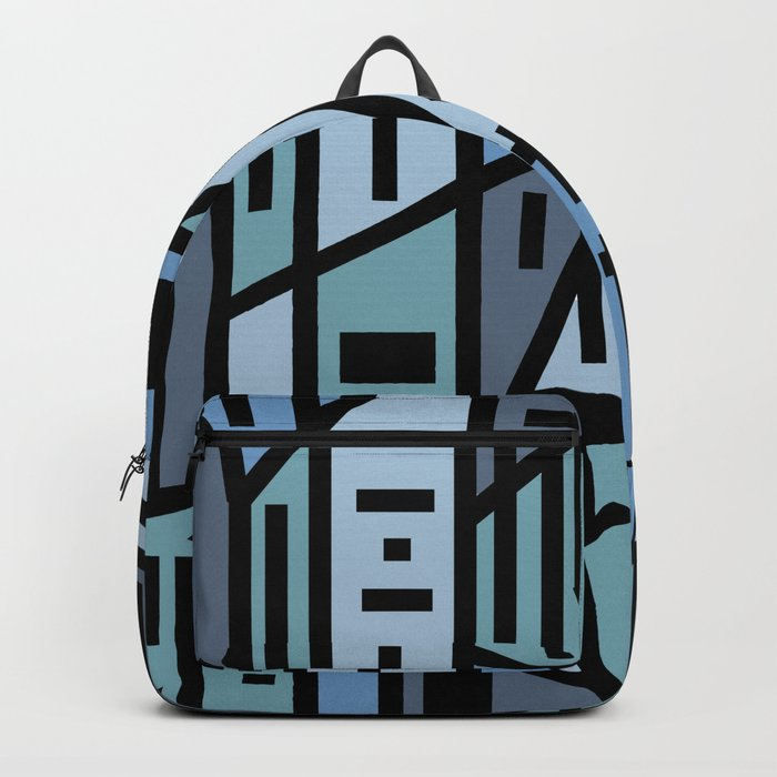 The sad hipster and the copper mosquito Backpack