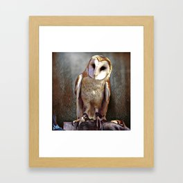 Owl Magic Framed Art Print