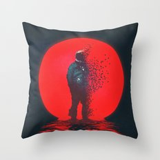 The Dispersion Effect Throw Pillow