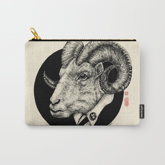 The Goat Father Carry-All Pouch