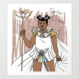 Sailor Cosmos Art Print