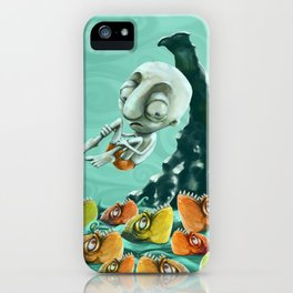 Take a Risk! - Piranhas iPhone Case