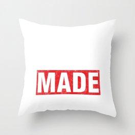 Successful Self Made Selfmade Hustle Encouraging Inspiring Statement Throw Pillow
