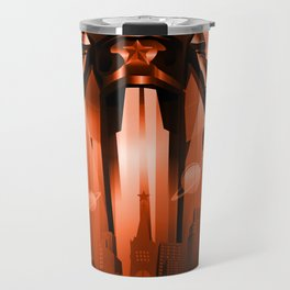 "Jurij Gagarin ""Victory in Universe"" Travel Mug"