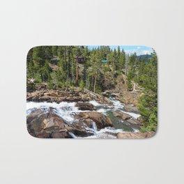 Glen Alpine Falls, Lake Tahoe Bath Mat