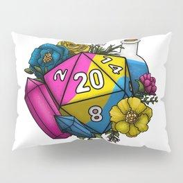 Pride Pansexual D20 Tabletop RPG Gaming Dice Pillow Sham