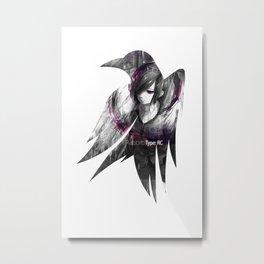 Raven's cloak Touka Metal Print