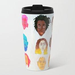Strangers Blinking Travel Mug