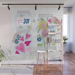 Jars of Joy Wall Mural