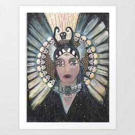 underworld journey/ transformation Art Print