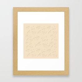 Egg Sour Sidecar Framed Art Print