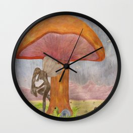 Caught Ogling a Fairy Wall Clock