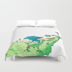 Starring Sonic and Miles 'Tails' Prower (Alt.) Duvet Cover