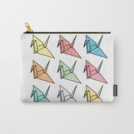 Origami crane Carry-All Pouch