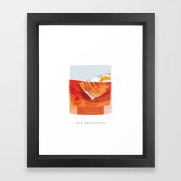 Cocktail Hour: Old Fashioned Framed Art Print