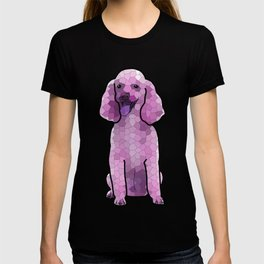 Poodle in Amethyst Mosaic T-shirt