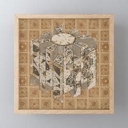 Hellraiser Puzzlebox C Framed Mini Art Print