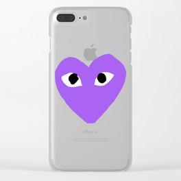 Comme Des Garcons Clear iPhone Case