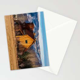 Barn Style Home - Heber - Utah Stationery Cards