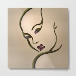 Illusion #1- That she is Metal Print