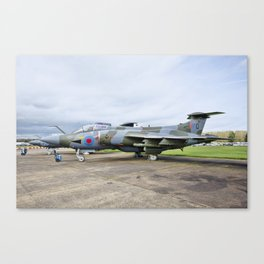 Buccaneer aircraft Canvas Print