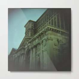 Ruins of Michigan Central Station   Metal Print