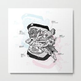 Sandwich (for meat lovers) Metal Print