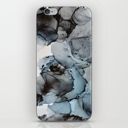 Smoke Show - Alcohol Ink Painting iPhone Skin