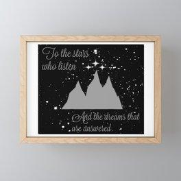 Void & Hope Framed Mini Art Print