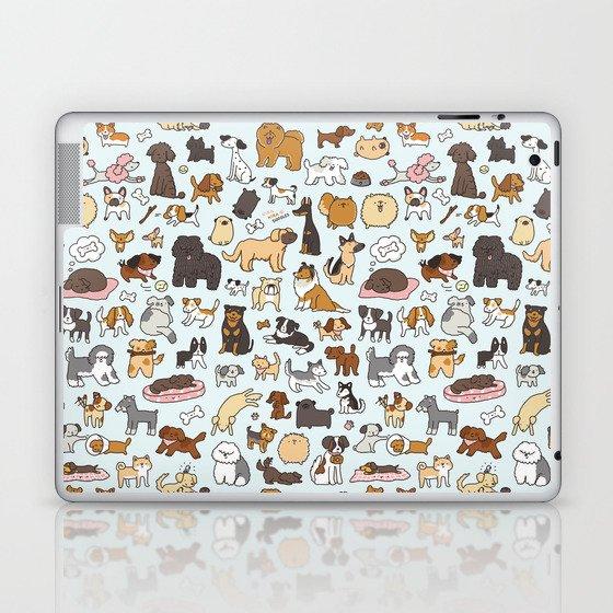 Doggy Doodle Laptop & iPad Skin