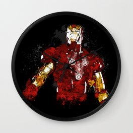 Iron Flux Wall Clock
